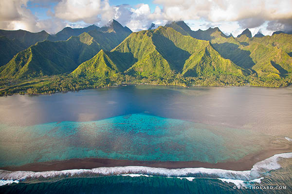 Full day boat tour to Tahiti's peninsula